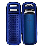co2crea Hard Travel Case for Ultimate Ears UE MEGABOOM 3 Portable Bluetooth Wireless Speaker (Lagoon Blue case for Speaker and Charging Dock)