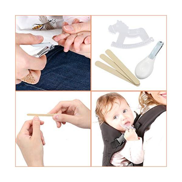 Lictin Set per la Cura del Bambino - Beauty BabyCare - Forbicine per Unghie e Capelli,Spazzolini da denti,Tagliaunghie… 5