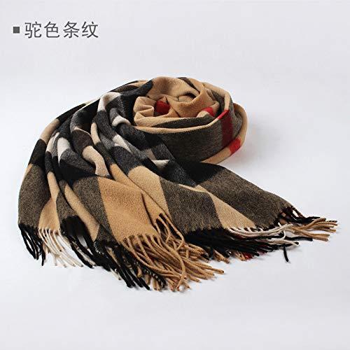 Femminile Oversize Ispessimento Stripes Sciarpa Camel Selvaggia Agvbtqxzf q68xzwBwP
