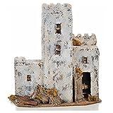Holyart Neapolitan Nativity scene accessory, Palestinian house 30cm tall