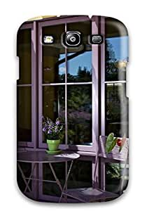 Rugged Skin Case Cover For Galaxy S3- Eco-friendly Packaging(attractive Exterior Ccdae)