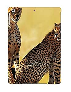 Anti-scratch And Shatterproof Cats From Africa Phone Case For Ipad Air/ High Quality Tpu Case