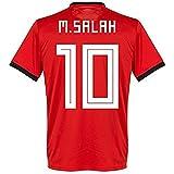 NEW SJ 2018 World Cup Salah #10 Egypt Home Soccer Short Jersey Size M