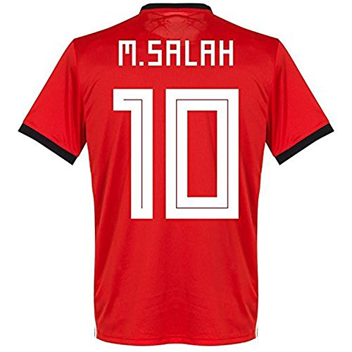 NEW SJ 2018 World Cup Salah #10 Egypt Home Soccer Short Jersey Size M by NEW SJ