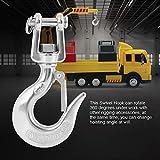 Yosooo 304 Stainless Steel Swivel Lifting Hook with
