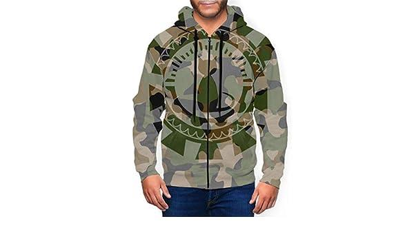 WHDKG Long Sleeve Hoodie Print Cute Cartoon Jacket Zipper Coat Fashion Mens Sweatshirt Full-Zip S-3xl