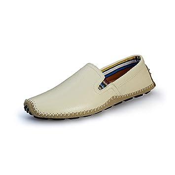 Tt Mocasines Para Hombres Zapatos Cuero Botines De Tyx lFKcT3J1