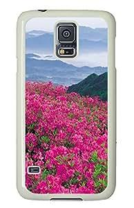 uncommon Samsung Galaxy S5 case Beautiful Garden Flowerss PC White Custom Samsung Galaxy S5 Case Cover