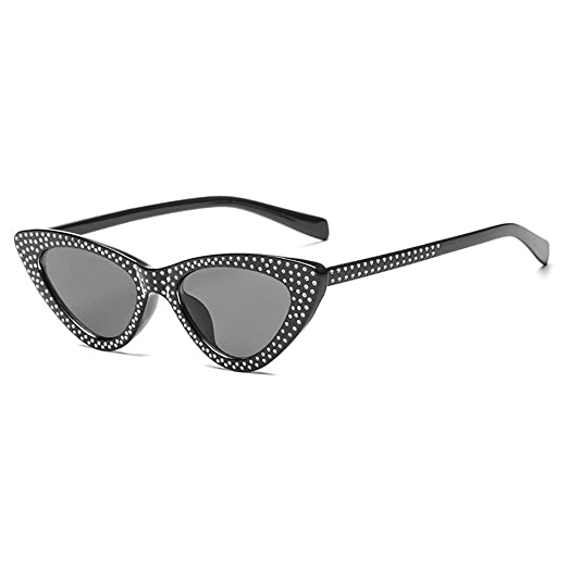 826061a30b9 MINCL Small Sexy Cat Sunglasses Womens 2018 Hot Sale Fashion Vintage Chic  Diamond Shades UV400