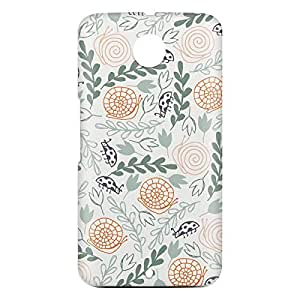 Loud Universe Motorola Nexus 6 3D Wrap Around Wild Print Cover - Multi Color