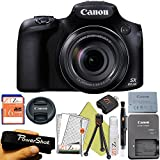 Canon PowerShot SX60 HS 16.1MP Digital Camera with 65x Optical Zoom and Built-in WiFi/NFC (Starter Kit)