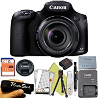 Canon PowerShot SX60 HS 16.1MP Digital Camera with 65x Optical Zoom and Built-in WiFi/ NFC (Starter Kit)