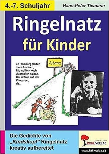 Ringelnatz Für Kinder Gedichte Kreativ Amazonde Hans
