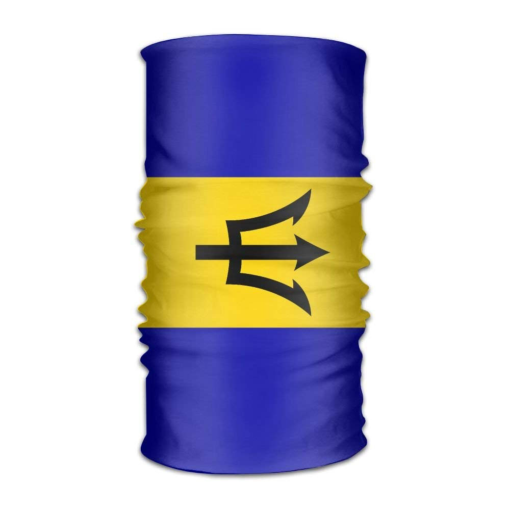 Barbados Flag Unisex Fashion Quick-drying Microfiber Headdress Outdoor Magic Scarf Neck Neck Scarf Hooded Scarf Super Soft Handle