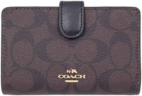 코치 COACH 지갑 지갑 F23553 시 그 니 쳐 반 접기 지갑 레이디스 아울렛 제품 병행 수입품 / Coach COACH Wallet Bi-Fold Wallet F23553 Signature Bi-Fold Wallet Ladies Outlet Goods Parallel Imported Goods