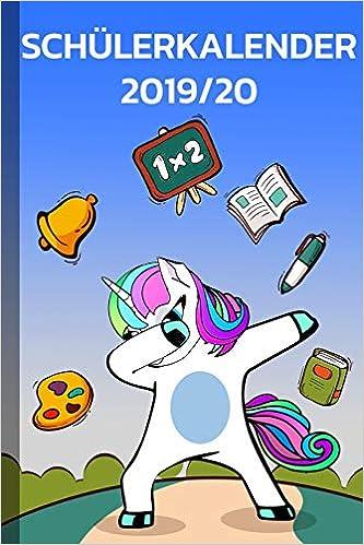 Schülerkalender 2019/20: Planer mit Kalender, Schulferien ...