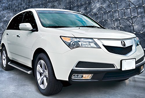 - iBoard (Silver Running Board Style) Running Boards | Nerf Bars | Side Steps | Step Rails for 2009-2015 Honda Pilot Sport Utility 4-Door & 2009-2013 Acura MDX