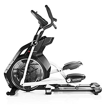 Bowflex-Bicicleta Elíptica semiprofesional BXE326- Color Negro y Gris- Fitness Apps Bluetooth 4.0