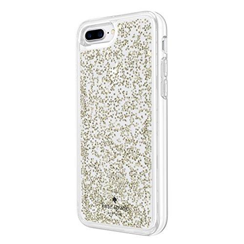 Amazon.com  Incipio Apple iPhone 7 Plus 8 Plus Kate Spade New York Clear Glitter  Case - Gold Glitter  Cell Phones   Accessories bcd056f262f3