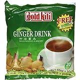 Ginger Drink Gold Kili 40 Sachets Packed in 2 Bags, 12.6 oz