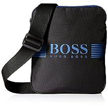 BOSS Green Men's Pixel Nylon Envelope Pouch Bag