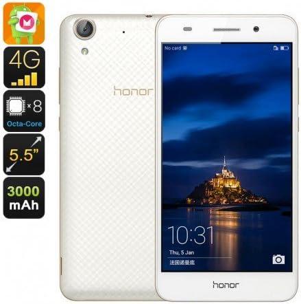 Huawei Honor 5A Smartphone - Android 6.0, Octa Core CPU, 2GB de RAM, 3000mAh, 5.5 Pulgadas de Pantalla HD (Blanco): Amazon.es: Electrónica