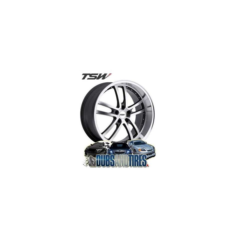20 Inch 20x10 TSW wheels CADWELL Gunmetal wheels rims