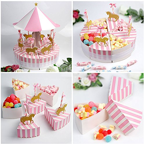 aytai wedding favor boxes merry go round style candy gift. Black Bedroom Furniture Sets. Home Design Ideas
