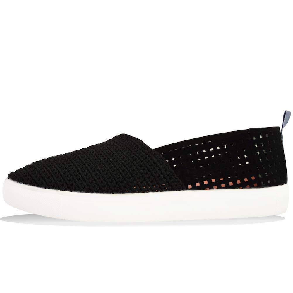 Poppy Crochet Summer Shoes for Women Happeeness Slip-On Style Breathable Slip-Ons, are Handcrafted