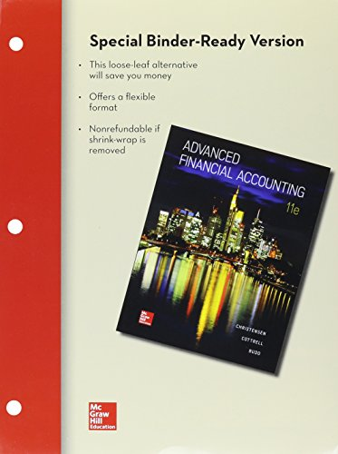 advanced accounting looseleaf - 9