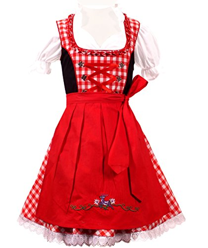 3piece Children Dirndl KD-217/128 (German Girls Dirndl)
