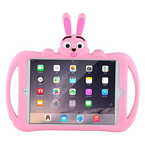Hflong iPad Mini 2 Case, Shockproof Silicone iPad Protection