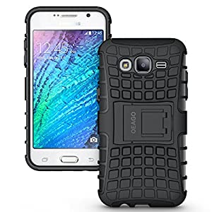 Samsung Galaxy J5 Case Cover - Tough Rugged Dual Layer Protective Case