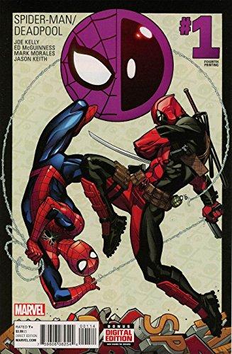 Spider-man Deadpool #1 Fourth Printing - Marvel Comics