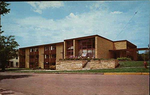 Southwestern College - Residence Hall for Men Winfield, Kansas KS Original Vintage Postcard