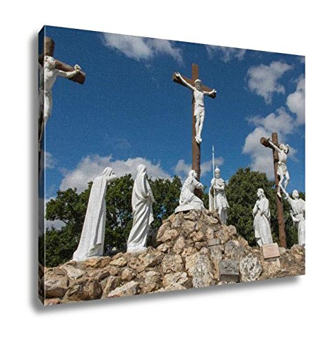 Ashley Canvas, Way Of The Cross And Calvary Built Years Ago By St Louis Monfor, Home Decoration Office, Ready to Hang, 20x25, AG6544735 by Ashley Canvas