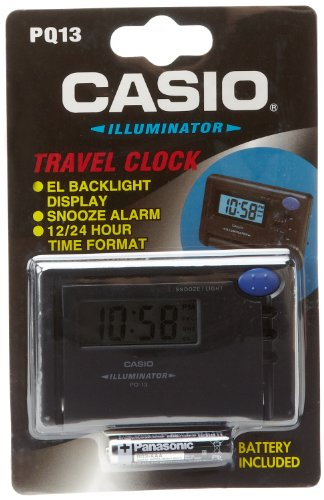 Casio Snooze Daily Alarm Travel Clock (Casio Travel Alarm)