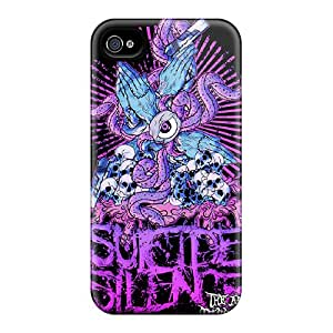 Perfect Cell-phone Hard Cover For Iphone 6plus With Unique Design High Resolution Suicide Silence Series Marycase88