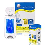 #10: Lovelybaby Diaper Pail Refill Bags (1020 Counts) Eco-friendly Imported Material Fully Compatible with Arm&Hammer Disposal System-(34 Bags Value Pack)