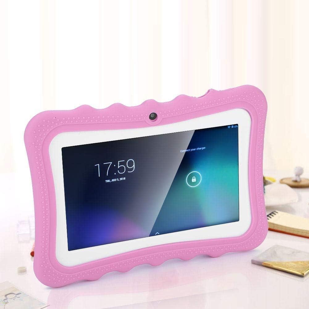 KSTE 7 Pulgadas de Pantalla t/áctil Tablet PC Ni/ños protecci/ón de Ojos de WiFi de la Tableta de Aprendizaje for los ni/ños Enchufe de la UE