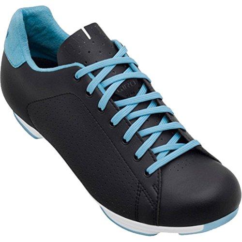 Giro GF22160 Womens Civila Road Bike Shoes, Black/Blue - 43 ()