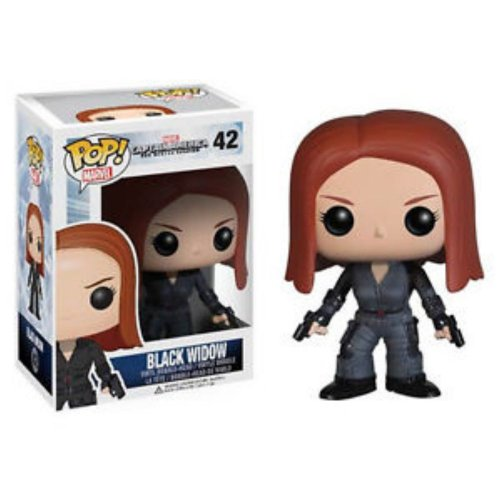 Funko POP Heroes: Captain America Movie 2 - Black Widow Action Figure -