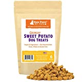 Raw Paws USA Natural Sweet Potato Dog Treats, 6-ounce – Healthy, Vegan, Vegetarian, Grain Free, Low Calorie, Low Protein, Mini, Dried, Crunchy Dog Treats Great for Puppy Training & Small to Large Dogs Review