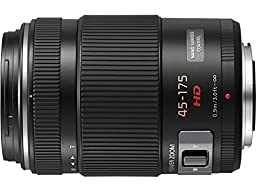 PANASONIC LUMIX G X Vario Power Zoom Lens, 45-175mm, F4.0-5.6 ASPH., Mirrorless Micro Four Thirds, POWER Optical I.S., H-PS45175K (USA BLACK)