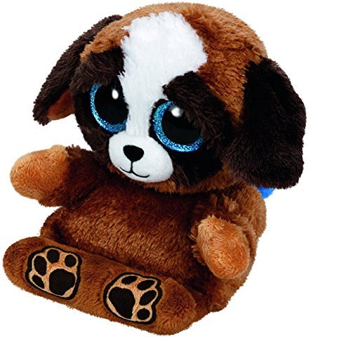 By S&S TOYS MIAMI Ty Peek-A-Boo Phone Holder with Screen Cleaner Bottom, Pups (free gift with purchase) (Free Cell Screen)