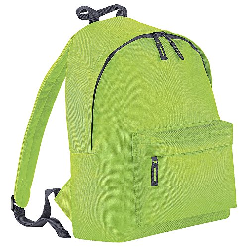 Graphite Backpack Lime Fashion BG125 BagBase zIUqF8F