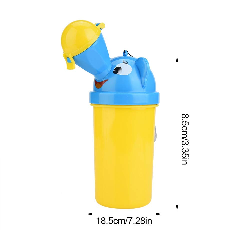 Baby Portable Urinal Potty Child Emergency Toilet for Toddler Upgrade Baby Car Camping Travel and Kid Potty Pee red