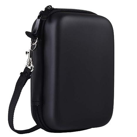 Katia A prueba de golpes Bolsa de viaje de almacenamiento para HP Sprocket Impresora portátil de fotos / Polaroid ZIP Impresora portátil Bolsa de ...