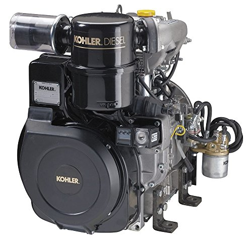 Kohler Four-Stroke Air-Cooled Diesel Engine - 25.2 HP, Group 8 Interchange Shaft, Model# PA-KD62525002 - Kohler Engine Generators