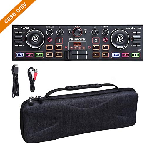 Aproca Hard Carry Travel Case Compatible with Numark DJ2GO2 Pocket DJ Controller